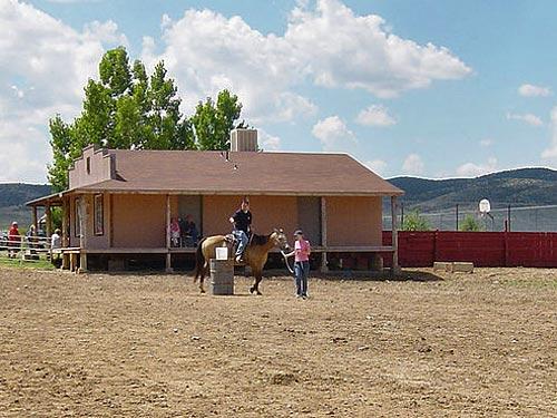 Reitstunden auf einer Ranch in den USA